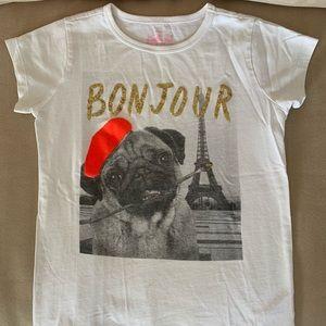 Bonjour T-shirt JCrew